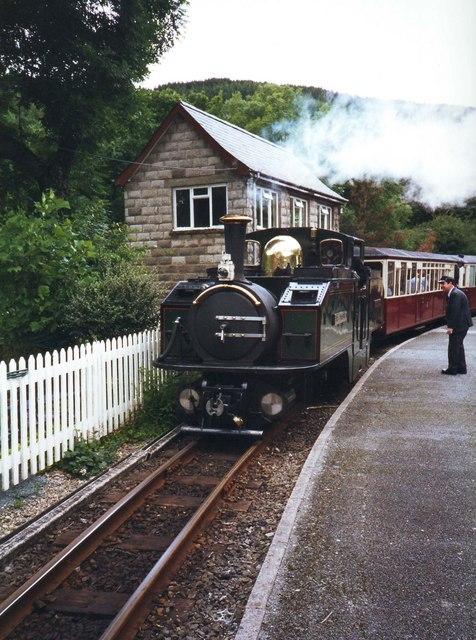 Earl Of Merioneth in Tan-Y-Bwlch station