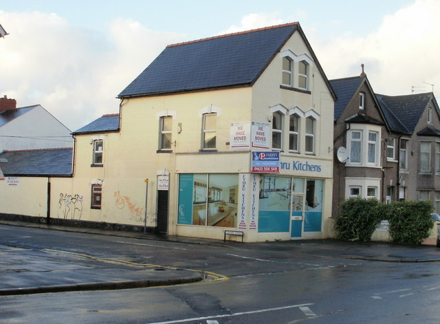 Vacant premises on the corner of Turner Street and Caerleon Road, Newport