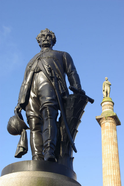 Statues in George Square