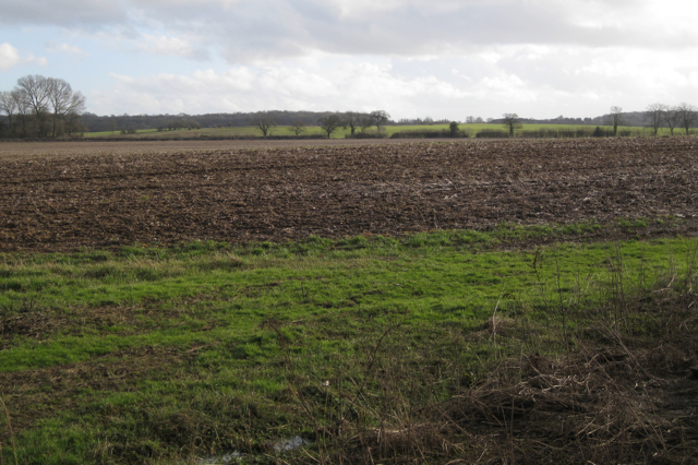 Ploughed field by the Avon