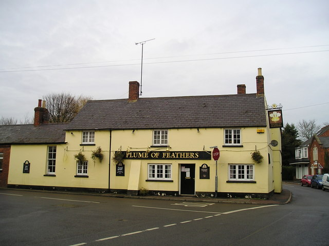 The Plume of Feathers Pub, Weedon Beck