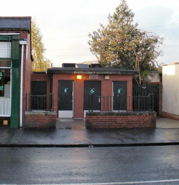 Caerleon Road public conveniences, Newport