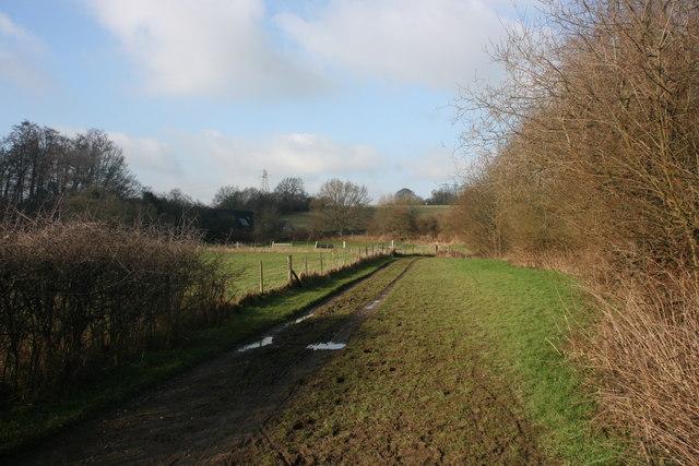 Bridleway, Brambletye Manor Farm