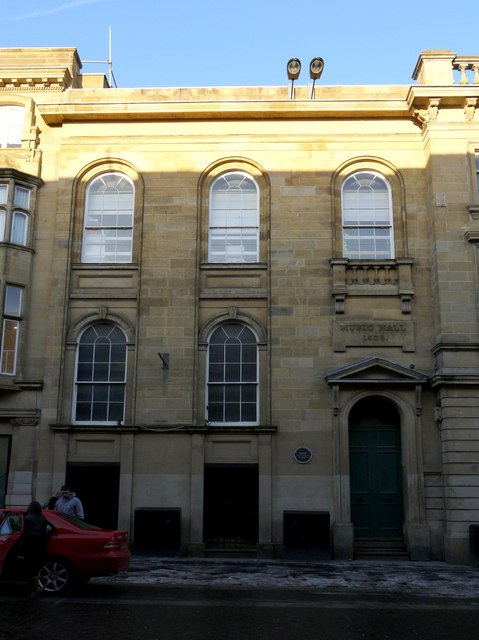 Former Music Hall and Lecture Room, Nelson Street
