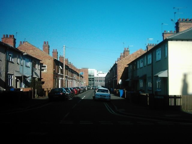 Pybus Street from Ashbourne Road, Derby
