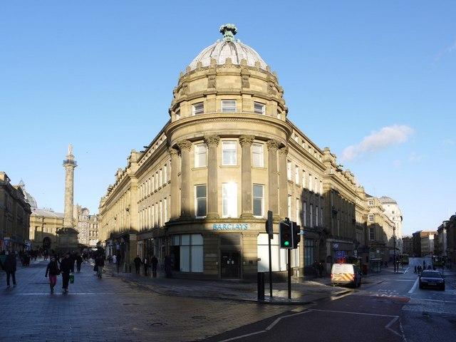 Grainger Street / Market Street corner