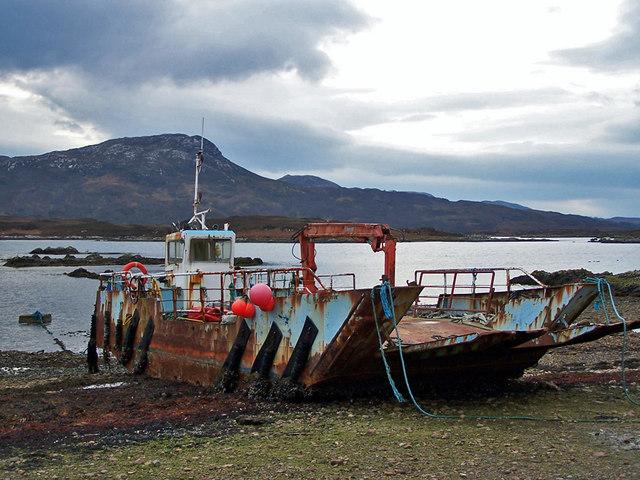 Glen Scotia at Heaste