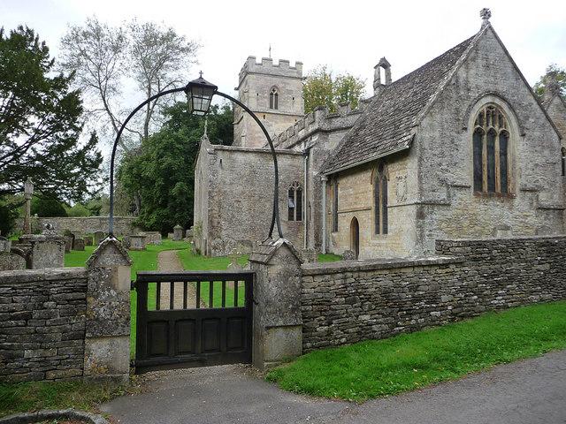 Ampney Crucis, Holy Rood Church