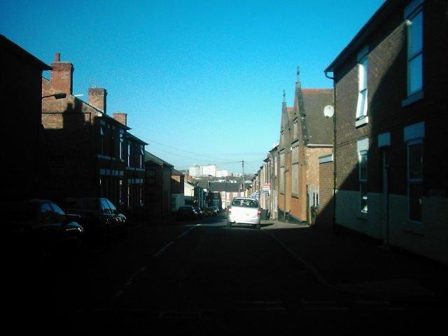Langley Street from Stanley Street, Derby