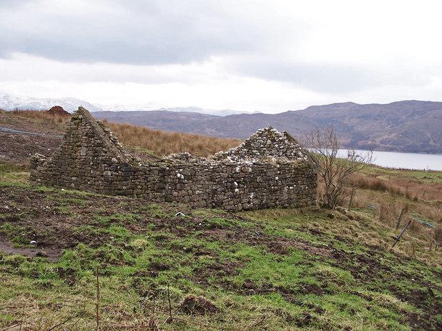 Ruin in Heaste