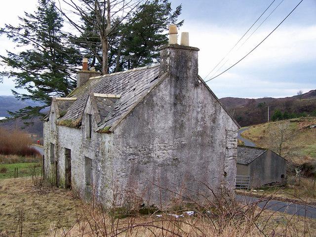 Derelict house, Heaste