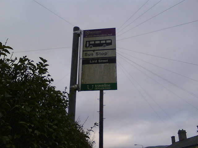 Lord Street Bus Stop, Glossop