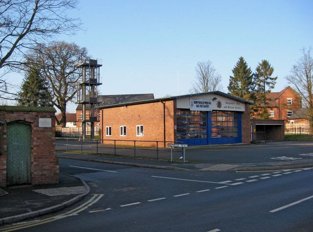 Newport Fire Station and drill tower, Salters Lane