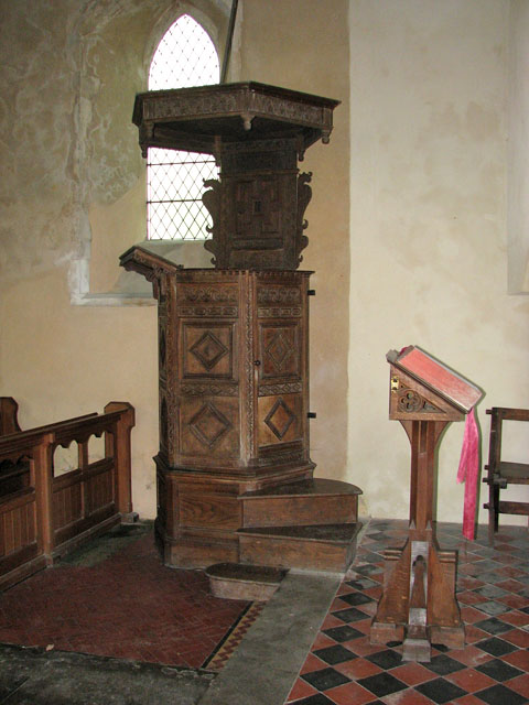 St Mary's church - Jacobean pulpit