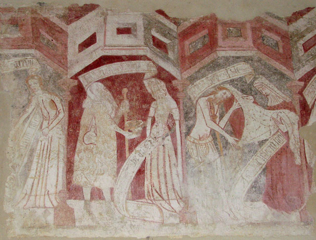 St Mary's church - C14 wall painting