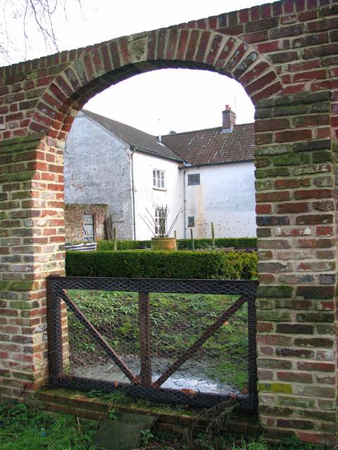 Gateway to Manor Hall Farmhouse