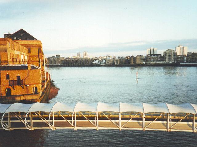 River Thames, Docklands