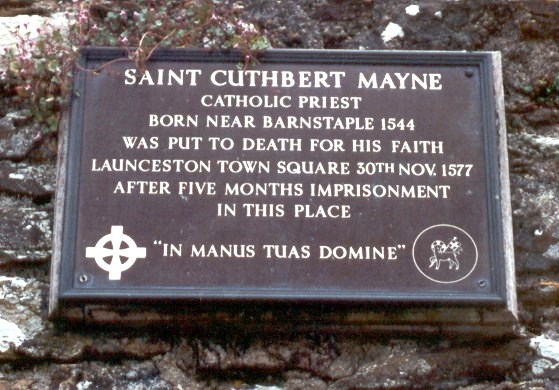 Imprisonment and execution of a Catholic martyr 1577