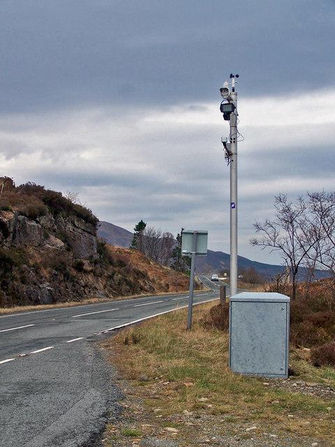 Traffic Scotland camera, Ard Dorch