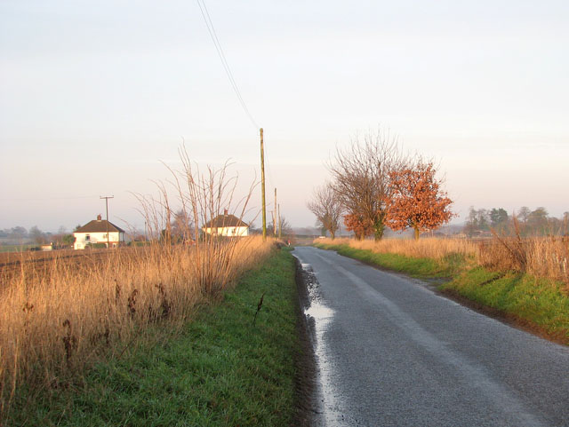View north-east along Kittles Lane