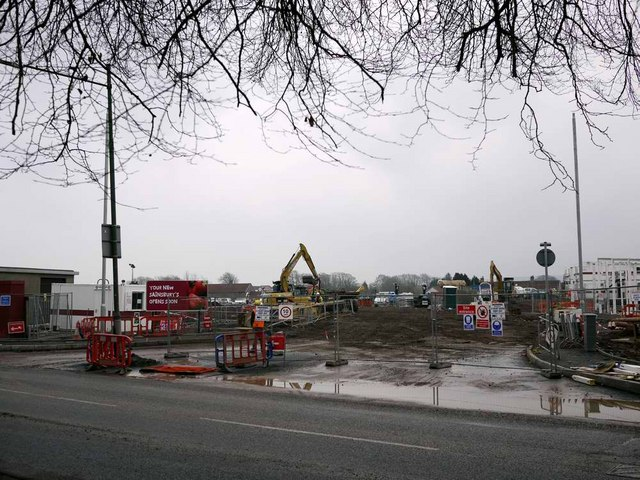 The new Sainsburys in Strathaven