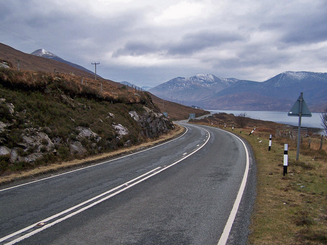 A87 towards Sligachan