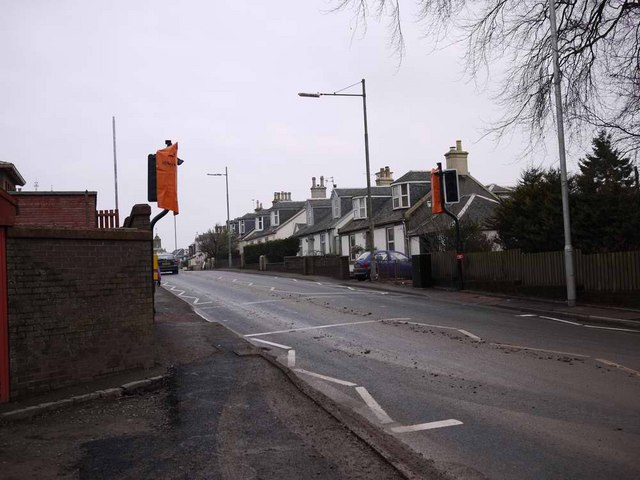 New pedestrian crossing in Strathaven