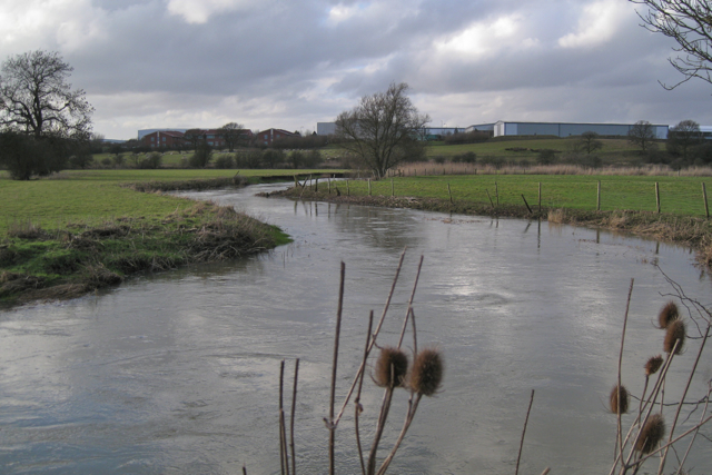 River Avon below Middlemarch Business Park