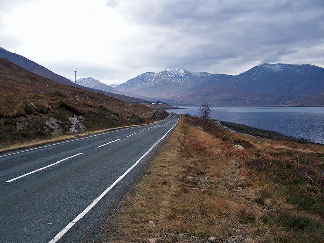 A87 towards Sligachan