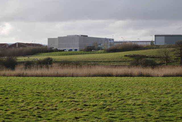 Middlemarch Business Park from the east