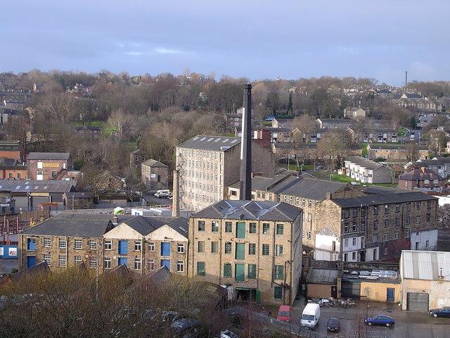 Dewsbury - view from Crackenedge Lane