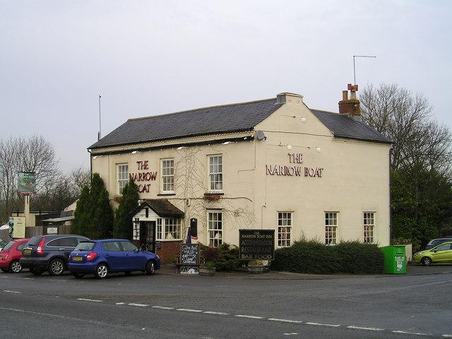 The Narrowboat Pub, Stowe Hill