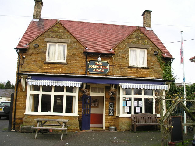 The Foresters Arms Pub, Nether Heyford