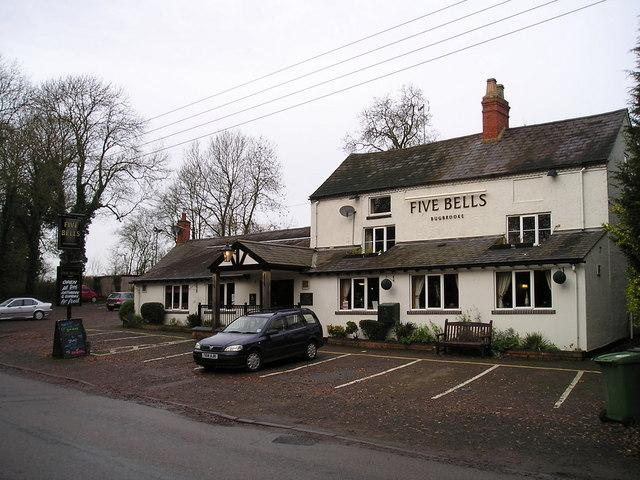 The Five Bells Pub, Bugbrooke