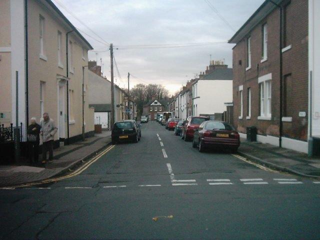 York Street from Vernon Street, Derby