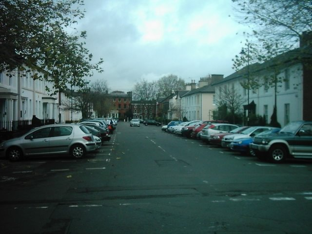 Vernon Street from South Street, Derby