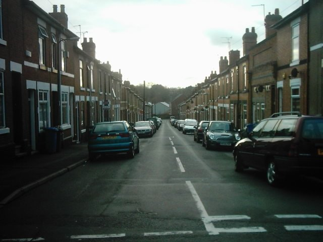 Brough Street from Stables Street, Derby