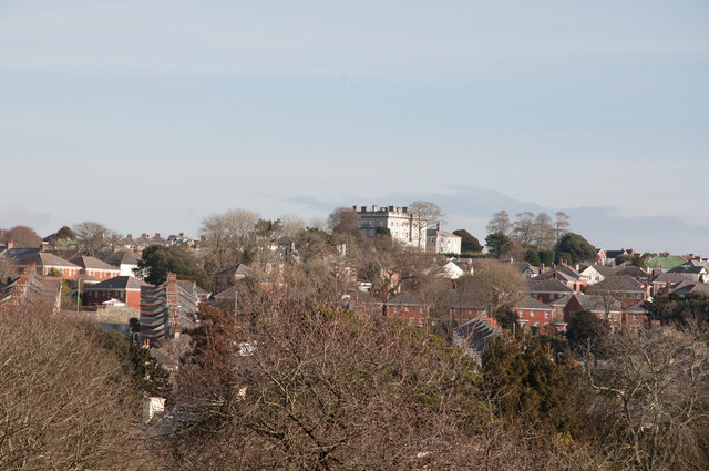 View across Peverell - Plymouth