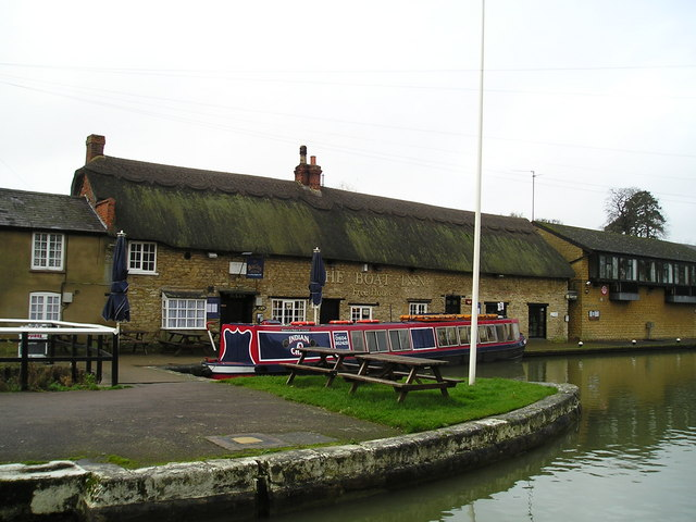 The Boat Inn Pub, Stoke Bruerne