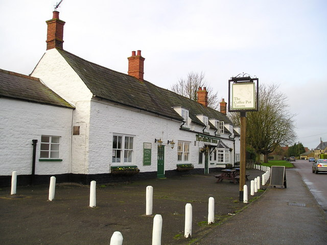 The Coffee Pot Tavern Pub, Yardley Gobion