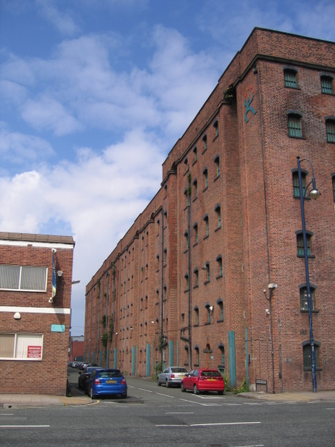 Dickson Street and the Bonded Tea Warehouse