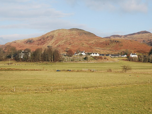 Kilmartin - a view from Nether Largie North Cairn