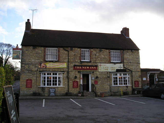 The New Inn Pub, New Bradwell