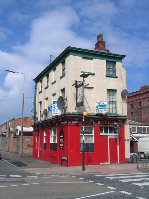 The Bull on the corner of Dublin Street