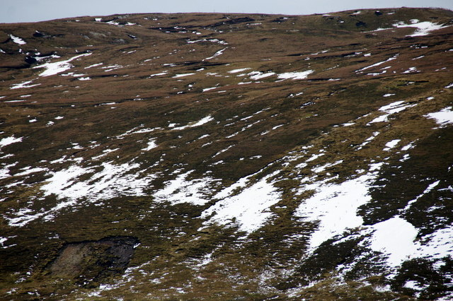 Flanks of Valla Field from Hill of Caldback