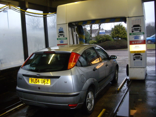 Somerfield car wash