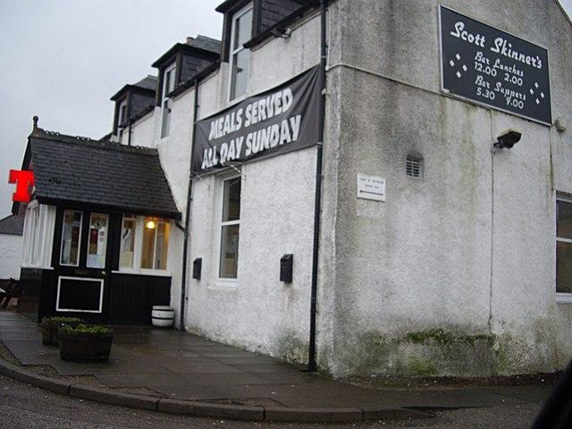 Scott Skinner's pub