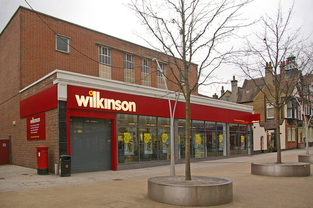 Former Woolworths, now Wilkinsons