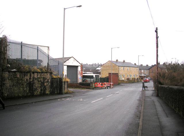 Barnoldswick:  West Close Road