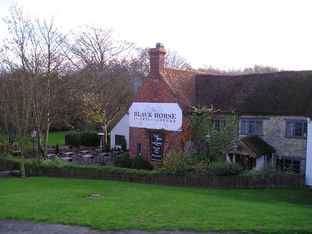 The Black Horse Pub, Great Linford